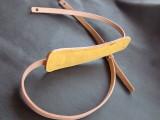 ギターストラップ ナチュラル 黄色