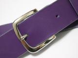 紫 ギターストラップ