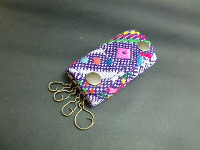 Key case AKHA HILL TRIBE 2color ke-192