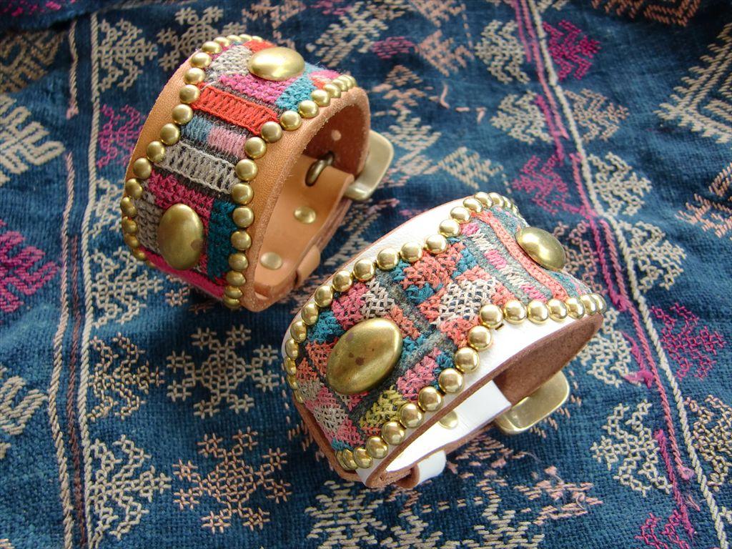 Studs Bracelet AKHA HILL TRIBE br-183