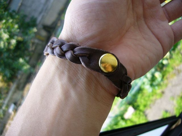 LEATHER Bracelet br-91