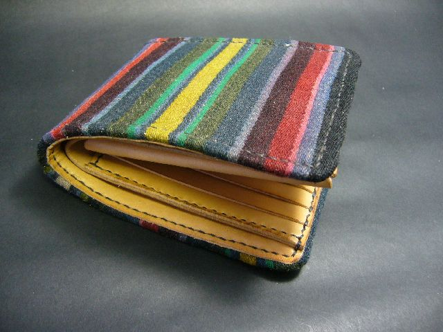 Half Wallet AKHA HILL TRIBE w-160
